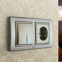Установка выключателей в Симферополе. Монтаж, ремонт, замена выключателей, розеток Симферополь.